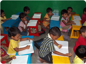 Balwadi- Pre Primary School at Nari Seva Sangha